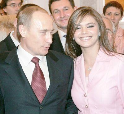 Путин и его дети и новая жена фото