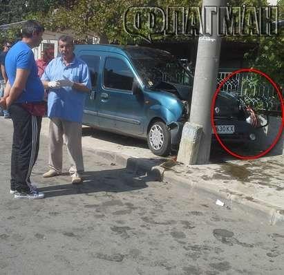 Пиян граничен полицай уби с колата си на място бебе в количка