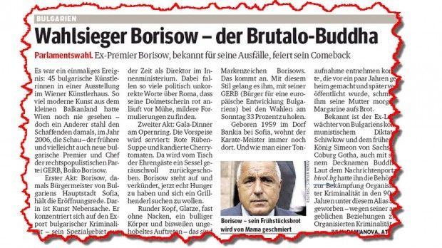 """""""Курир"""", Австрия: Изборен победител – Бруталният Буда"""