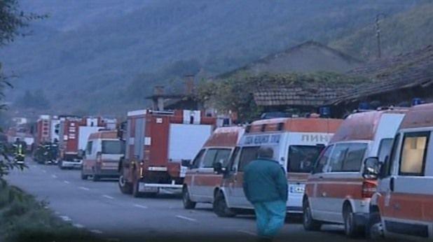 15 са загинали при взривяването на завода в Горни Лом