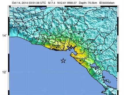 Силно земетресение от 7,4 по Рихтер в Централна Америка, чакат цунами