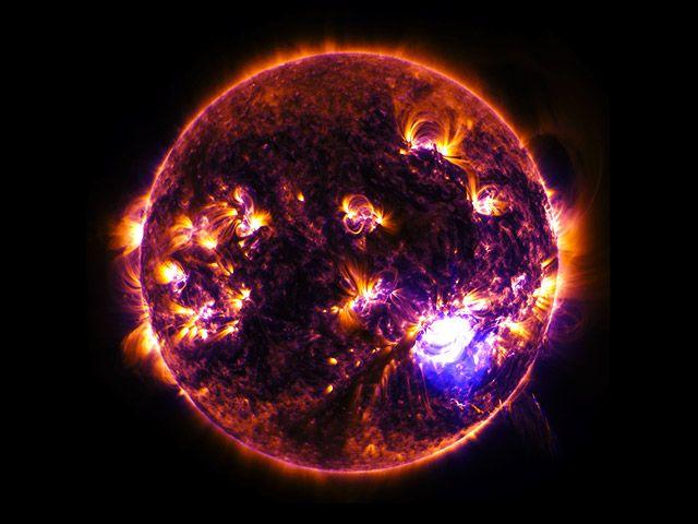 Рентгенов телескоп на НАСА направи уникални снимки на Слънцето