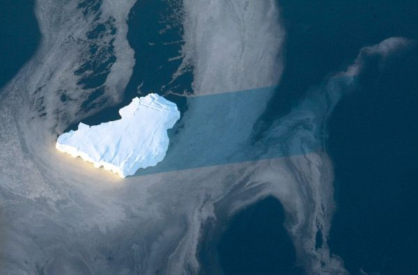 Само през април Арктика е загубила над 800 хил. квадратни км лед