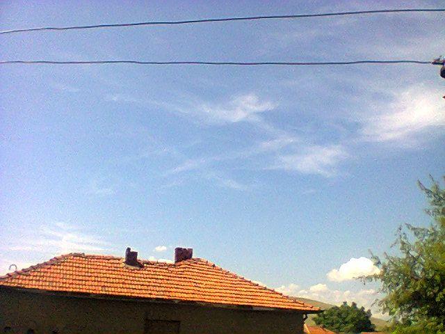 Отново химтрейли над Пловдивско