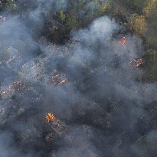 """Пожар вдигна радиацията около АЕЦ """"Чернобил"""""""