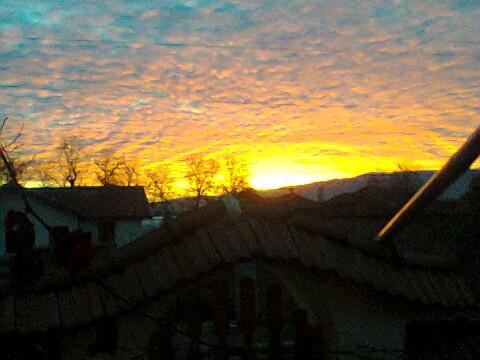 Божествен изгрев над Родопите
