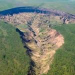 Виждали ли сте такъв странен кратер?
