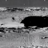 Заснета е гигантска постройка на северния полюс на Луната (видео)