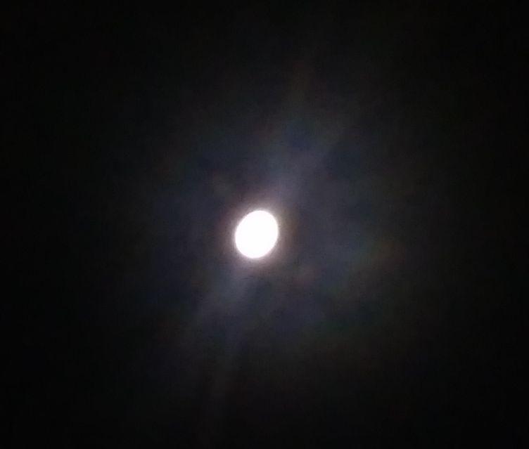 Суперлунието или Голямата Луна над Пловдивско