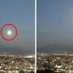 Впечатляващо НЛО излетя от мексикански вулкан (снимки, видео)