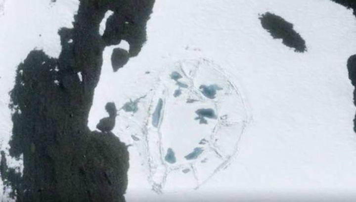 В Антарктида откриха руини на древна гигантска сграда (видео)