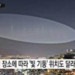 Странни светлинни кръгове в небето изплашиха корейците (видео)