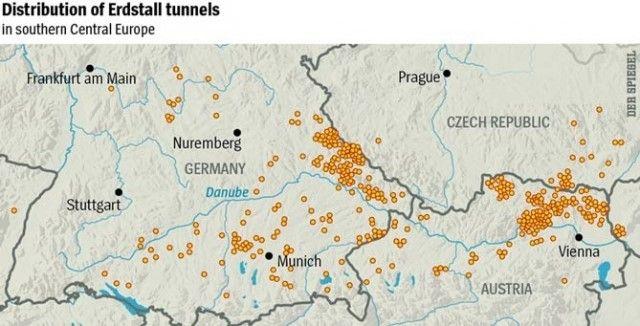 Загадъчни подземни тунели пронизват цялото Земно кълбо (снимки, видео)
