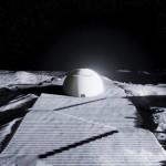 Испанец проектира храм на Южния полюс на Луната (снимки, видео)