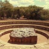 Най-големият метеорит, ударил Земята, е превърнат в паметник (видео)