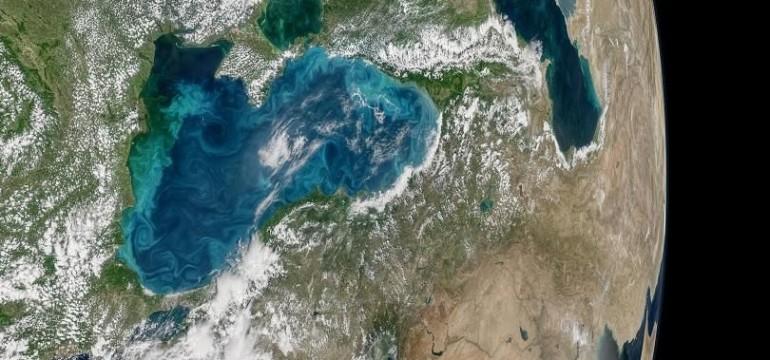 НАСА показа удивително красива снимка от Космоса на Черно море