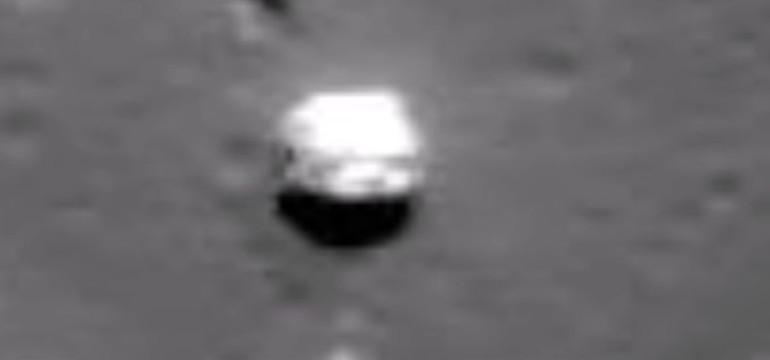 """85-километров летящ """"камък"""" засечен на Луната (видео)"""