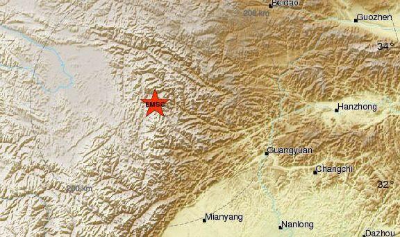 Серия силни трусове в Китай взеха жертви. Пълното слънчево затъмнение и земетресенията
