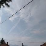 Поредна доза химически трасета над Тракия (снимки)