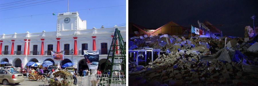 Жертви и големи разрушения след най-силното от век насам земетресение в Мексико