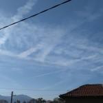 Да ни са честити най-пресните химически трасета над България (снимки)