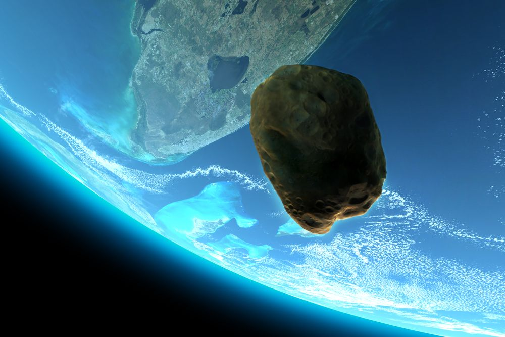 """Към Земята отново лети астероидът """"Фаетон"""""""