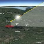 300-килограмов метеорит падна с гръм във Финландия, видян е от няколко държави