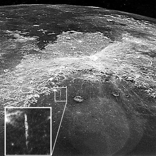 Поредица: Загадъчните аномалии на Луната. Изкуствена кула, висока 11 км! (видео) -2