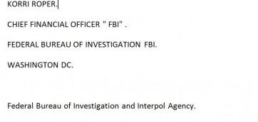 измама ФБР