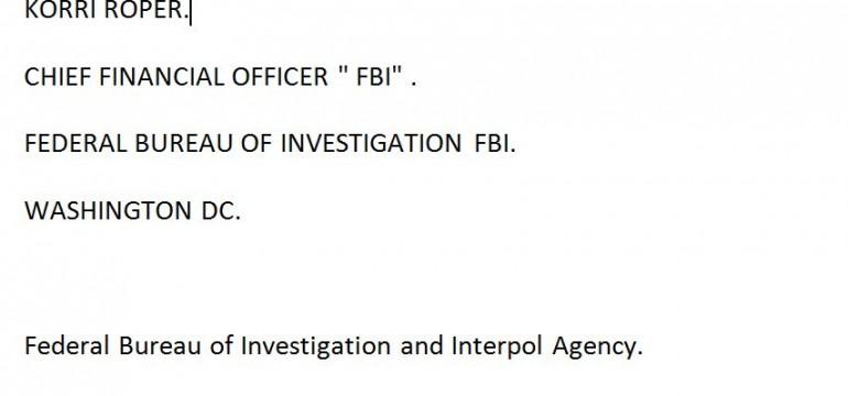 Внимание: Нови измамници плъзнаха в е-пощите, били от оперативни офицери от ФБР