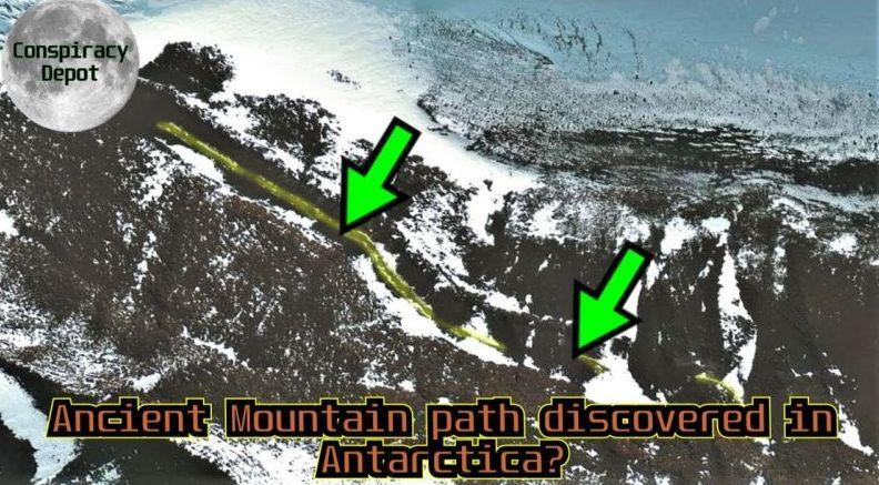 Поредна странна находка: Откриха път и мост на Антарктида чрез карти Google (видео)