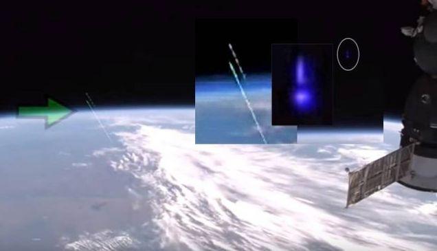 Два излитащи от Земята НЛО засне камера на Международната космическа станция (видео)