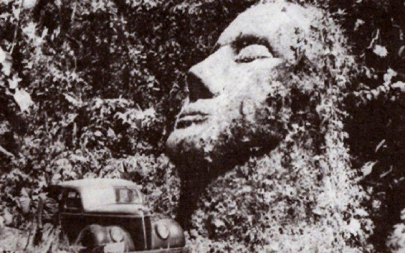 Загадъчната каменна глава от Гватемала, която по нищо не прилича на другите