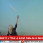 НЛО се появява по време на телевизионно предаване на живо (видео)