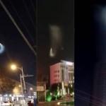 НЛО освети с мощен лъч Пекин, ошашави очевидците (видео)