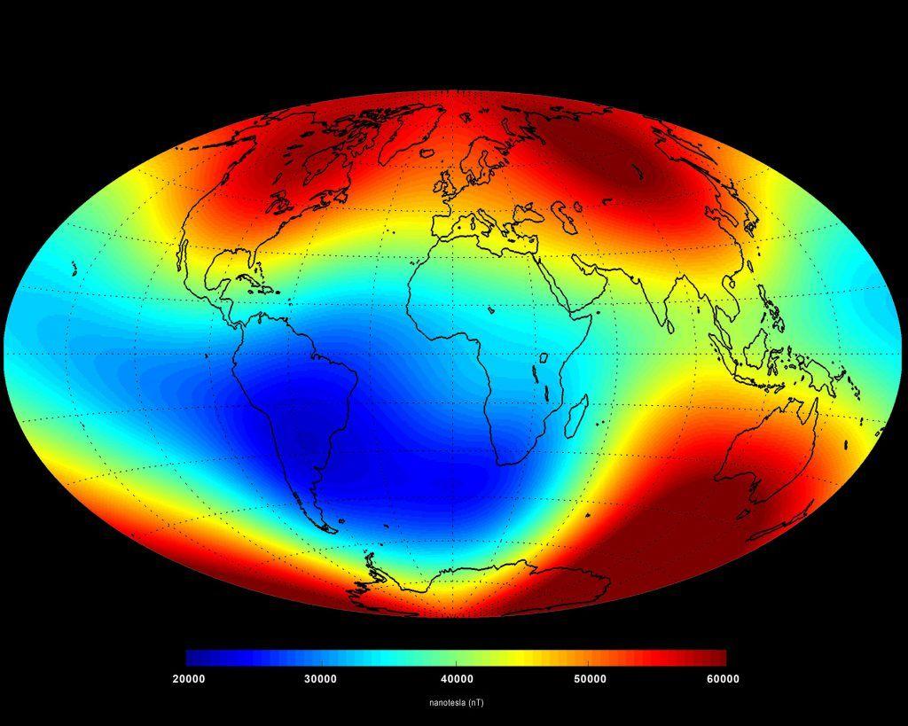 Чували ли сте за Южно-Атлантическата аномалия?
