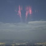 Рядко или ново (?) природно явление над Франция: Червени спрайтове