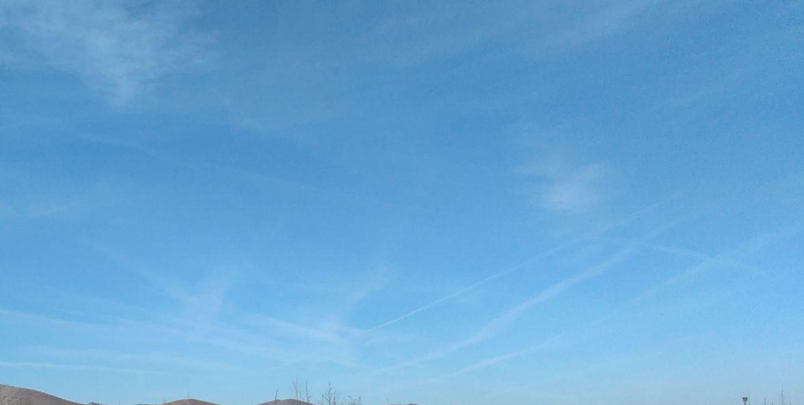 Пак избродираха с химически трасета небето над Западна Тракия (снимки)