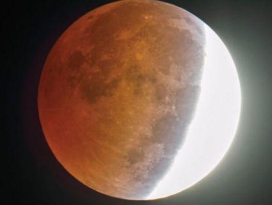 Максимумът на лунното затъмнение ще можем да видим в 21 часа
