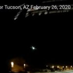 Метеорит се взриви над щата Аризона, САЩ (видео)