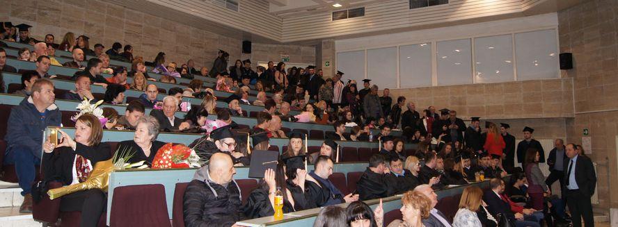 На дипломирането: 115 абсолвенти от Техническия университет и 4 …студентски бебета
