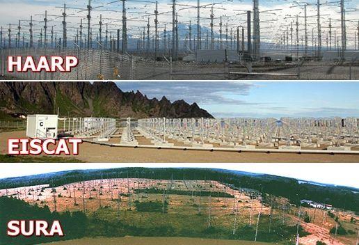 HAARP-EISCAT-SURA