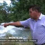 Внезапно изчезна прочут по цял свят водопад в Мексико (видео)