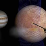 """Сондата """"Галилео"""" потвърди наличието на водни гейзери на спътник на Юпитер"""