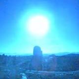 Голям метеорит се взриви над Испания, превърна нощта в ден (видео)