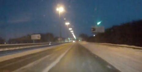 Метеорит се взриви над руски град (видео)